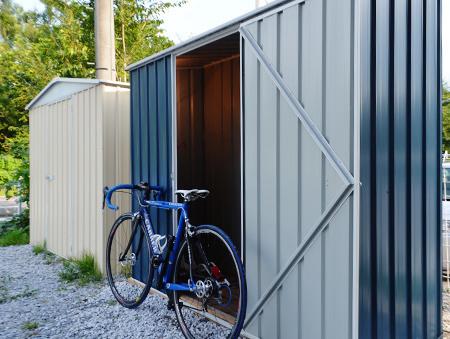 自転車 置き場 物置